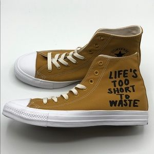 "Converse CT All Star ""Life's Too Short To Waste"""